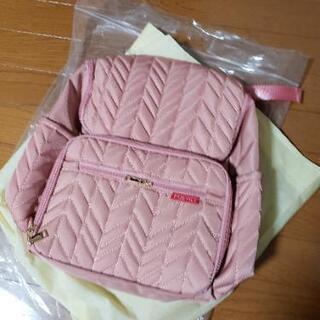 【最終値下げ】 ピンクの可愛い マザーズリュック 新品未使用