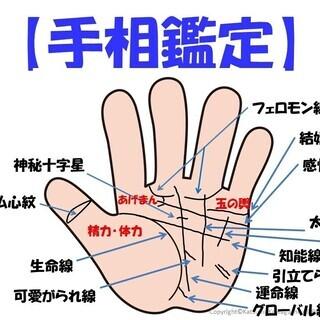 4月~手相鑑定教育コース(基礎・応用・プロ育成)木曜・土曜日クラス