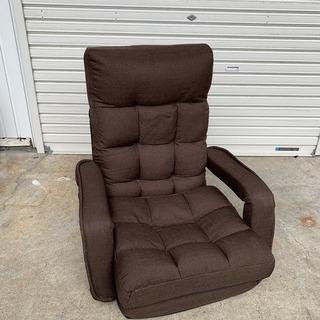 定価12000円 高級ふかふか座椅子 リクライニング機能付き!