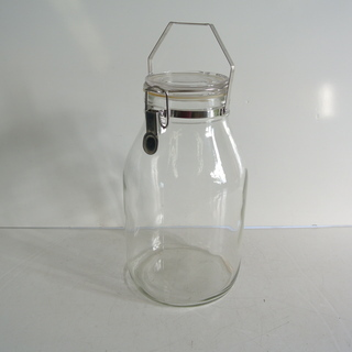 セラーメイト Cellarmate ガラス製 取っ手付き密封容器...