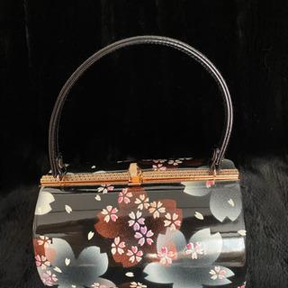 桜・桜 和装用バッグ