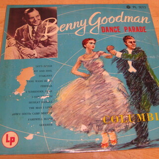 10【LPレコード】ベニイ・グッドマン・ダンス・パレード