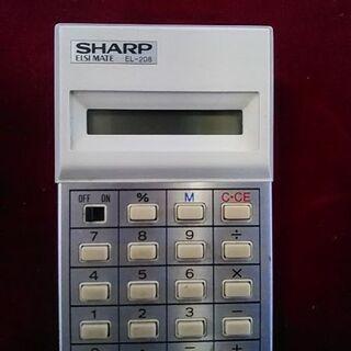 SHARP・電卓パートⅡ※レア物ジャンク品