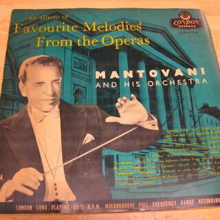 17【LPレコード】マントヴァーニ・オペラ名旋律集