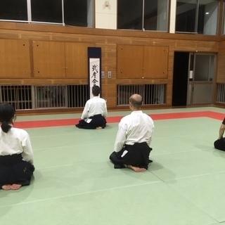 長崎市北部地区(横尾中学校)の武道場で一緒に合気道を稽古しませんか