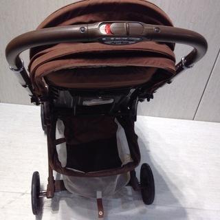 ★1283★Aprica アップリカ ベビーカー UN-サルーン 05424 ブラウン 対面式 赤ちゃん用品 移動用品 散歩 - 子供用品