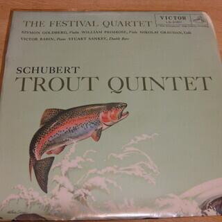 28【LPレコード】シューベルト ピアノ五重奏曲 イ短調「鱒」