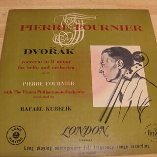 33【LPレコード】ドヴォルザーク チェロ協奏曲 ロ短調 作品104