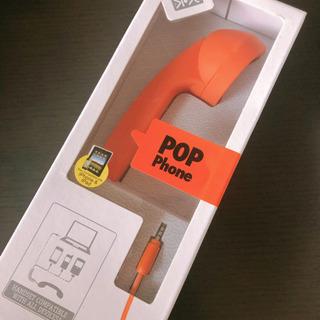 POP PHONE RETRO HANDSET 新品未使用
