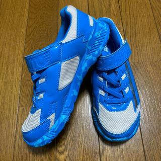 【美品】adidas ブルー 20cm
