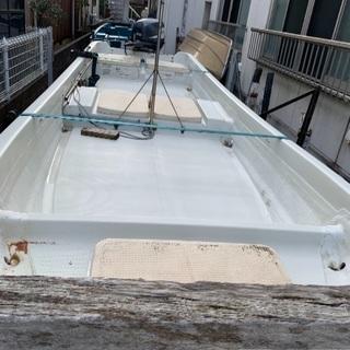 ヤマハAH4船外機ボート船検たっぷり