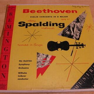 59【LPレコード】 Beethoven VIOLIN CONC...