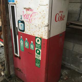 昭和レトロ Coca-Cola販売用冷蔵庫