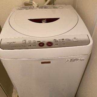 シャープ☆洗濯機☆2月19日取りに来ていただける方