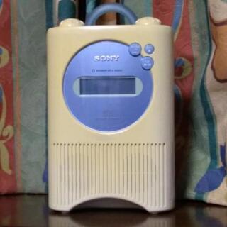 SONY防水CDプレーヤー ICF-CD73V