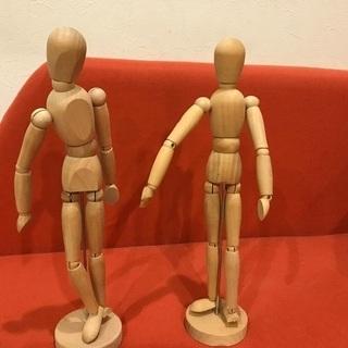 IKEA デッサン人形