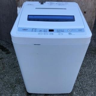 【配送無料】AQUA 6.0kg 洗濯機 AQW-S60A
