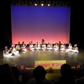 山口市のタヒチアンダンススタジオ【ヘイミリ】楽器隊も活動中です♪