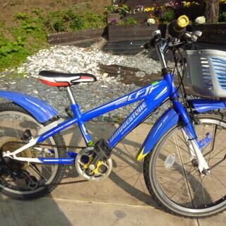子供用自転車 ブリヂストン mff2.0 ブルー&ホワイト 6段...
