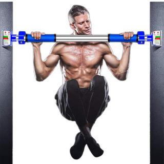 【新品未使用】バー 鉄棒 懸垂棒 けんすいバー 筋力トレーニング...