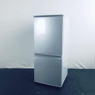 中古 冷蔵庫 2ドア シャープ SHARP 2016年製 137...