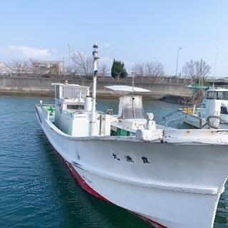 次の船が来るので早期希望!ゆったり乗れる船、漁船、プレジャーボート!!