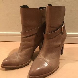 ラウンジドレス購入 ブーツ 23.5〜24cm