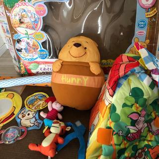 赤ちゃん  おもちゃ プーさん