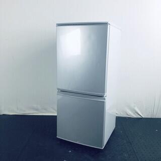 中古 冷蔵庫 2ドア シャープ SHARP 2017年製 137...