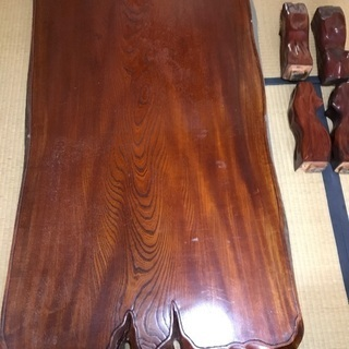 杉の一枚板机