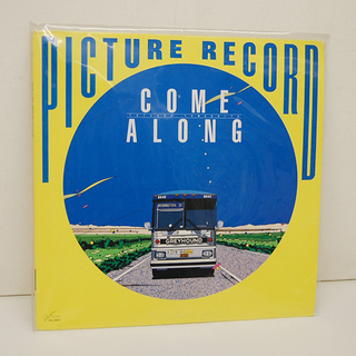 山下達郎 LPレコード COME ALONG PICTURE R...