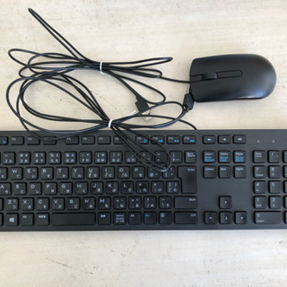 DELLデルのキーボード、マウス!有線!