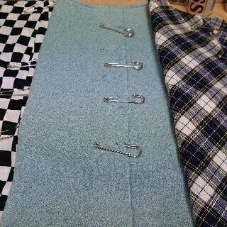 ①新品 巻き風スカート 3枚セット