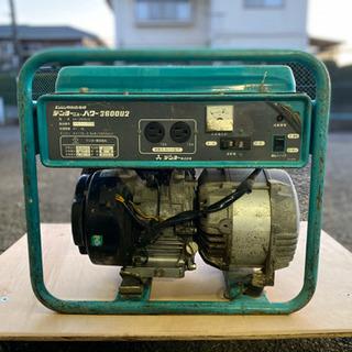 デンヨー ニューパワー GA-2606U2  発電機 調子いいです👍