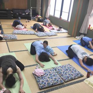 【2020年3月19日】ヨガ教室/お子様連れOK/野洲駅前
