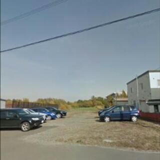 厚別西 格安駐車場 大型 ダンプ相談可能です。