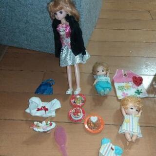 リカちゃん人形&赤ちゃん2体