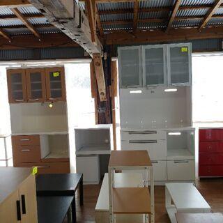 キッチンボード食器棚 オーブン収納タイプ