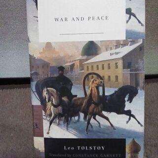 戦争と平和(2) 洋書 英語