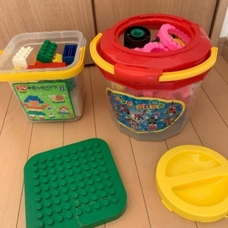 基本のバケツ 1歳から幼稚園児くらい