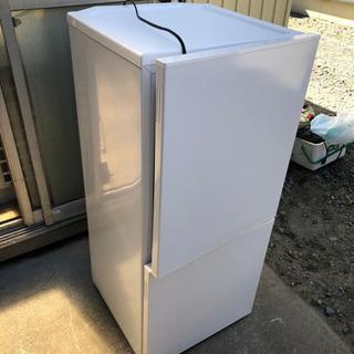 【美品】2019年製 ツインバード 2ドア冷凍冷蔵庫 110L ...