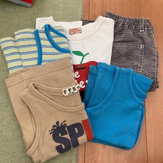 100cm 男の子 夏服 5枚セット