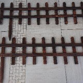 木製フェンス 2個セット