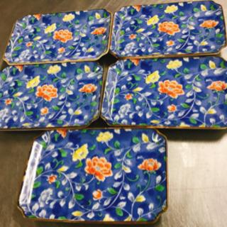 雅東苑窯 小皿 5セット