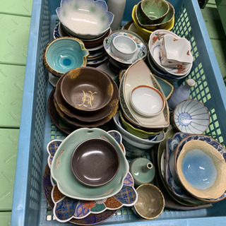 【値下】有田・土岐等 陶器、陶磁器合わせて50枚以上