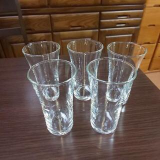 ビアグラス 小×5