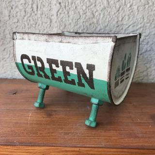 ドラム缶風リメイク缶*GREEN*