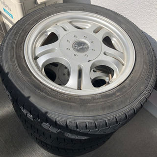 【最終値下げ!】スタッドレスタイヤ 4本セット 165/70 R14