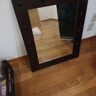民芸家具調鏡