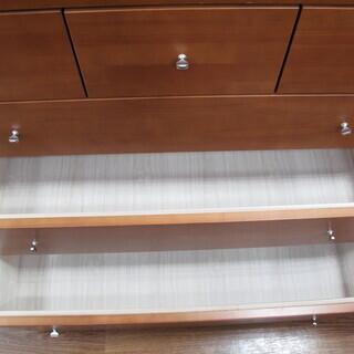 【トレファク府中店】5段チェスト ブラウン - 家具